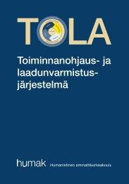 TOLA - Humanistinen ammattikorkeakoulu