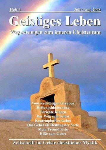 GL 4/2008 - der Lorber-Gesellschaft eV