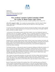 Pace Academy Launches Capital Campaign to Build The Arthur M ...