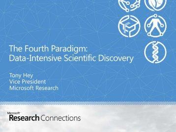 Data-Intensive Scientific Discovery - SC12