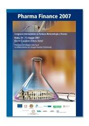 Pharma Finance 2007 - ENEA WebTV
