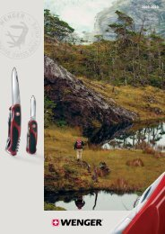 Swiss Army Knife Catalog - Wenger