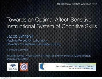 affect-sensitivity - Machine Perception Laboratory