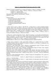 Zápis z 1. jednání Rady České televize dne 30. 5. 2001
