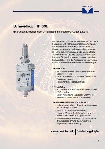 Schneidkopf HP SSL - Precitec.de