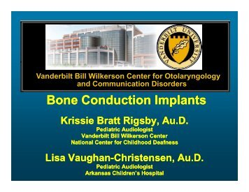 An Introduction to Bone Conduction Implants (PDF)