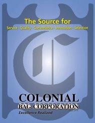 Colonial Bag Catalog - NY Tech Supply