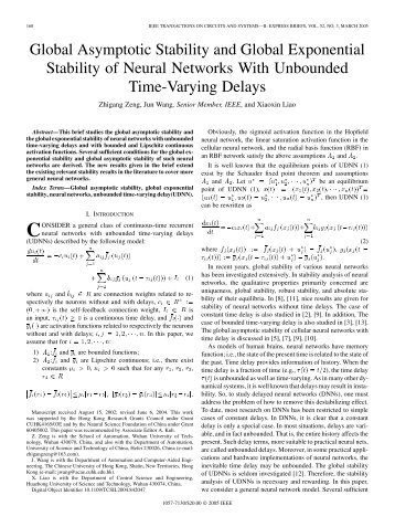 An exponential stability criterion for certain nonlinear systems ...