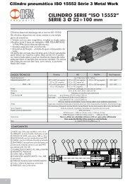 "CILINDRO SERIE ""ISO 15552"" - Nepin Acessórios Industriais"