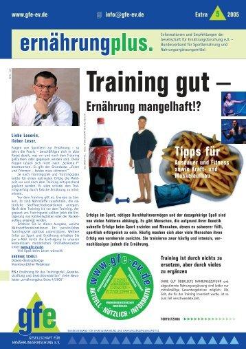 Training gut – Ernährung mangelhaft?! - Helge Seliger, The Warrior ...