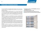 Feldverteiler & Verteilerschränke - F-tronic