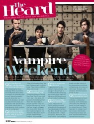Vampire Weekend interview - Kimberly Gillan