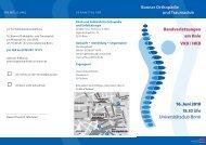 10. BOTC Thema Bandverletzungen am Knie (VKB / HKB) - Klinik für ...