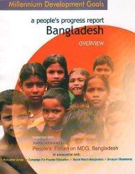 Millennium Development Goals a people's progress report - NGLS