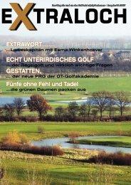 ECHT UNTERIRDISCHES GOLF Fünfe ohne Fehl ... - GolfPark Leipzig