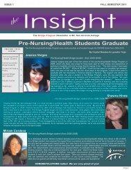 Fall 2011 Newsletter - Mt. San Antonio College