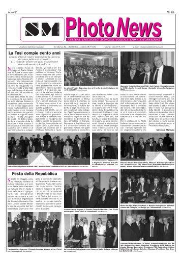 Anno IV Numero 26 (Marzo - Aprile - Maggio - Giugno 2008)