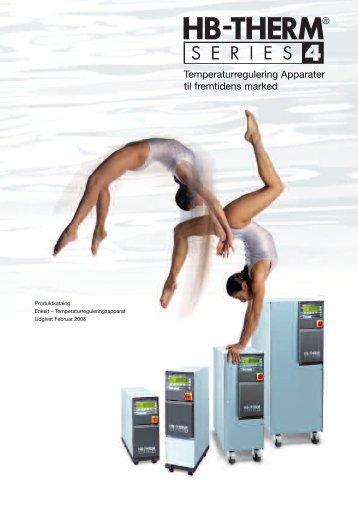 Temperaturregulering Apparater til fremtidens marked - Hb-Therm