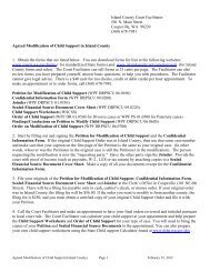 Agreed Modification of Child Support - Island County Government