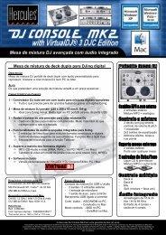 Advanced DJ Mixer with audio dedicated for DJing - Hercules