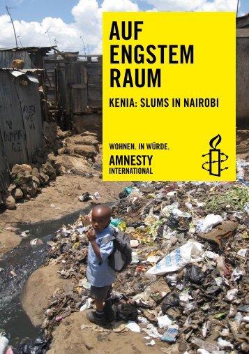 AUF ENGSTEM RAUM - Amnesty International