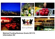Matched Funding Business Grants 2010/11 - Small Business ...