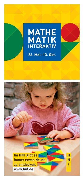 Broschüre zur Ausstellung - Heinz Nixdorf MuseumsForum