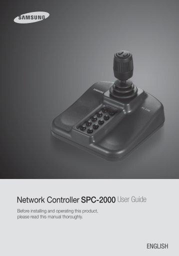 Samsung iPOLiS SPC-2000 User Manual - Use-IP
