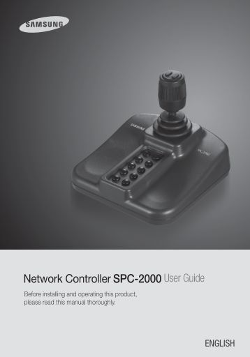 Samsung iPOLiS SPC-2000 User Manual - Use-IP