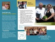 Faces of Believe Brochure - Home | Oregon Synod Evangelical ...