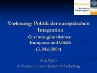 Europarat und OSZE