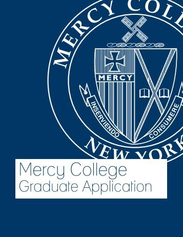 Graduate Application - Mercy College