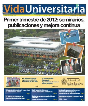 Primer trimestre de 2012 - Universidad Rafael Landívar
