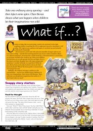 Snappy story starters - Scholastic