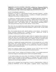 Direktiva 92 32 EEC o klasifikaciji pakovanju i ... - NVO Green Home