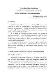 1º congresso de estudos rurais - Instituto Politécnico de Castelo ...