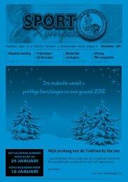 Sportkompas december 2011 - Hercules Dordrecht