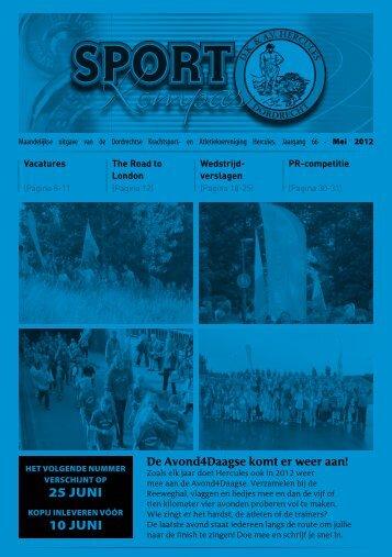 Sportkompas mei 2012 - Hercules Dordrecht