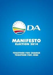 DA Manifesto 2014