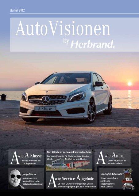 Awie Service-Angebote Awie A-Klasse wie Antos - Herbrand GmbH