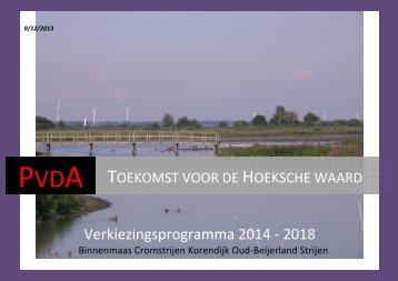 Verkiezingsprogramma-HW1