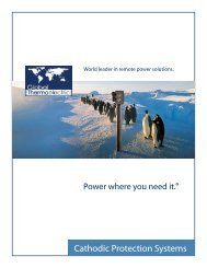 World leader in remote power solutions. - Global Thermoelectric