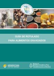 guía de rotulado para alimentos envasados - Alimentos Argentinos