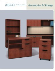 Accessories & Storage Brochure - ABCO Office Furniture