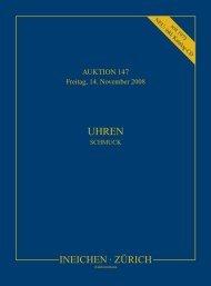 Auction and Preview - Auktionshaus Ineichen, Zürich