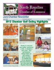 June Chamber Newsletter 2012 Chamber Golf Outing Highlights