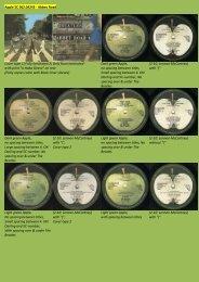 Apple 5C 062.04243 - Abbey Road Cover type 1 ... - applerecords.nl