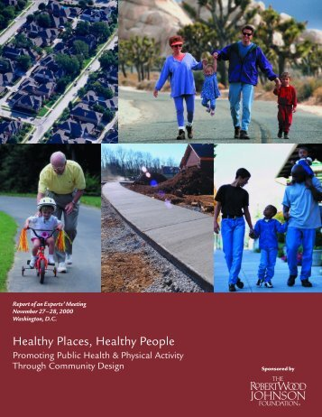 Healthy Places/People - folio