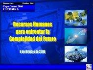 Una visión del problema de los Recursos Humanos ... - CICOMRA