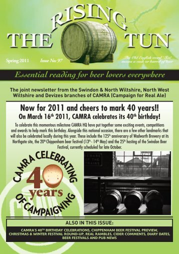 Rising tun - Swindon CAMRA